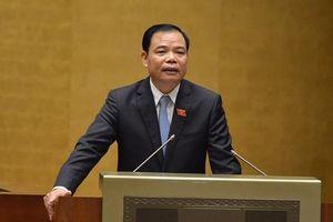 Bộ trưởng Nguyễn Xuân Cường giải trình về 55 chiếc tàu đóng mới nằm bờ