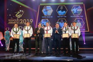 Quang Hải tiếp tục được tôn vinh tại V-League Awards 2019