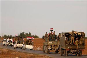 Quân đội Syria triển khai lực lượng tại các khu vực nhiều dầu khí do người Kurd nắm giữ