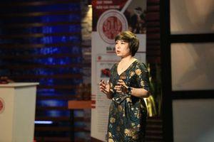 Gọi vốn bất thành trên Shark Tank Việt Nam, nữ doanh nhân đấu giá đặt mục tiêu tăng doanh thu 10 lần