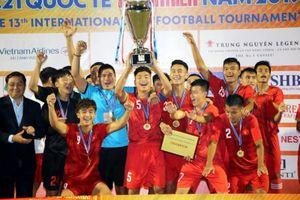 U21 tuyển chọn Việt Nam vô địch Giải U21 quốc tế 2019