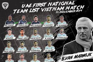 UAE điểm 'binh hùng tướng mạnh' chuẩn bị đấu đội tuyển Việt Nam