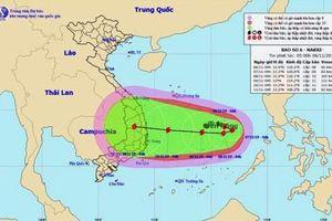 Áp thấp nhiệt đới trên Biển Đông mạnh lên thành bão số 6, hướng di chuyển phức tạp