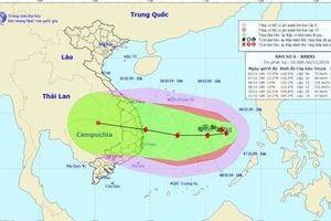 Cơn bão số 6 dần tăng cấp, có thể mạnh nhất trong năm nay