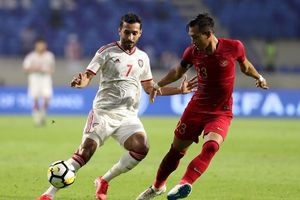UAE mất chân sút số 1 ở trận đấu với Việt Nam