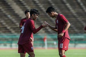 Trung bình 5 phút ghi 1 bàn, U19 Thái Lan thắng tỉ số không tưởng