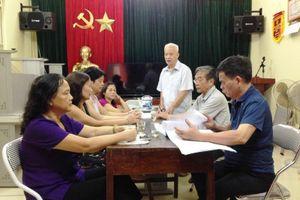 Thanh Xuân sắp xếp các chức danh không chuyên trách cấp phường và tổ dân phố