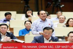 ĐBQH Hà Tĩnh đề nghị tiếp tục để HĐND các cấp được biểu quyết ngân sách hỗ trợ hoạt động của cơ sở