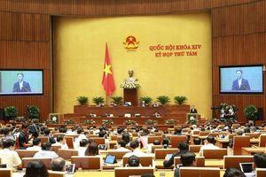 Bộ trưởng các Bộ Công thương và Nội vụ trả lời chất vấn