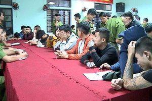 Phát hiện 28 nam nữ đang phê ma túy trong quán karaoke