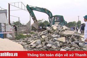 Cưỡng chế thu hồi đất Dự án đầu tư xây dựng thêm một nguyên đơn cầu vượt tại nút giao giữa Quốc lộ 1A và đường Nghi Sơn-Bãi Trành