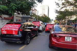 Phúc Yên, Phát Đạt tranh chấp chỗ đỗ xe trong chung cư: Cư dân phải đậu ô tô ở vỉa hè