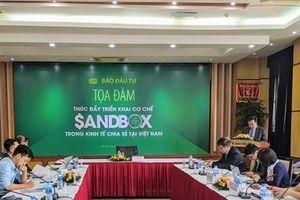 Mở khóa bài toán 'Sandbox' trong mô hình kinh tế chia sẻ Việt Nam