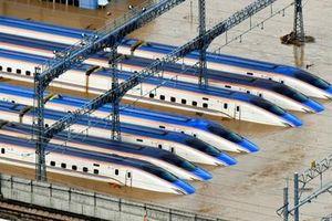Nhật loại toàn bộ tàu cao tốc bị ngập, thiệt hại 135 triệu USD