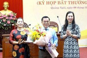 Đồng chí Nguyễn Tấn Đức giữ chức Phó chủ tịch HĐND tỉnh Quảng Ngãi