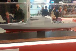 Nga sử dụng vật liệu composite đóng mới tàu chiến