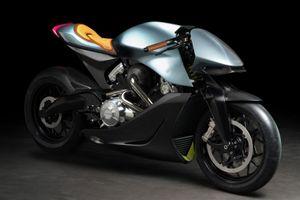 Aston Martin ra mắt siêu môtô giá 120.000 USD, thân xe bằng carbon