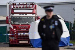 Anh thông tin danh tính 39 người chết trong xe tải ở Essex