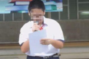Vụ phát tán video kỷ luật học sinh: 'Để xoa dịu...cộng đồng'