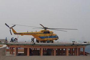 Tận mắt thấy máy bay đáp trên nóc Bệnh viện Quân Y 175
