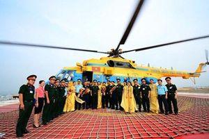Thử nghiệm sân đỗ trực thăng tại Bệnh viện Quân y 175