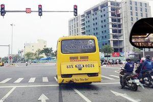 CSGT mạnh tay xử lý xe buýt, GrabBike vi phạm Luật Giao thông