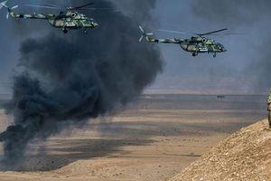 Nga bắt đầu tuần tra bắc Syria bằng trực thăng