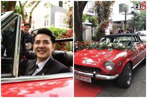 Dàn xế 12 con 'sang - xịn - mịn' trong đám hỏi Đông Nhi - Ông Cao Thắng, dẫn đầu là siêu xe Abarth phiên bản duy nhất tại Việt Nam