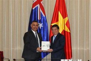 Tăng cường hợp tác giữa TP.HCM và bang New South Wales