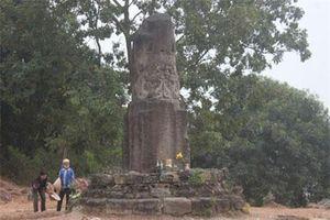 Giải mã cột đá 'bảo vật độc nhất' trên núi Dạm