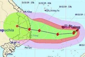 Ứng phó bão số 6: Đề nghị Bộ GTVT điều tàu hỗ trợ vào Bình Định