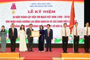 Viện Tim mạch Việt Nam - 30 năm xây dựng và trưởng thành