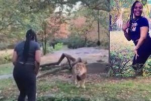 Bắt giữ người phụ nữ 'nghĩ mình là sư tử'