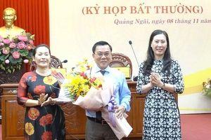 Ông Nguyễn Tấn Đức được bầu làm Phó Chủ tịch HĐND tỉnh Quảng Ngãi