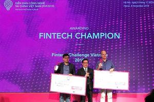 Kilimo và Trusting Social đến từ Việt Nam đã giành giải Nhất Fintech Challenge Vietnam
