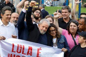 Brazil phóng thích cựu Tổng thống Lula da Silva