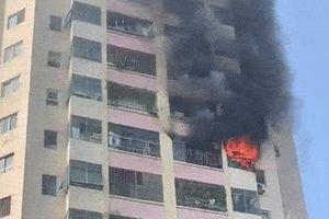 Cháy chung cư Làng quốc tế Thăng Long