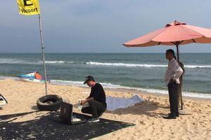 Du khách Nga đuối nước ở Bình Thuận