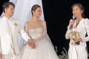 Ngô Thanh Vân bất ngờ khi nhận được hoa cưới của Đông Nhi