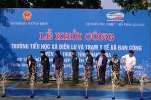 Viettel hỗ trợ huyện nghèo Bá Thước - Thanh Hóa