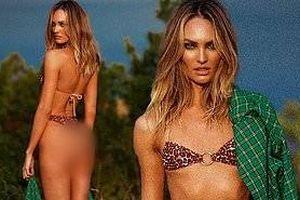 Candice Swanepoel thả dáng rực lửa với bikini hoang dã