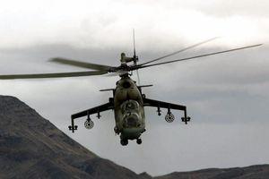 Cận cảnh trực thăng quân sự Nga lần đầu tuần tra ở biên giới Syria – Thổ Nhĩ Kỳ