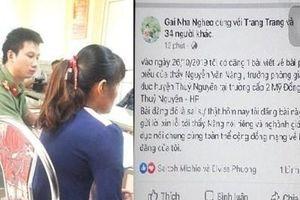Xử phạt tài khoản Facebook 'Gai Nha Ngheo' đưa thông tin sai về giáo dục