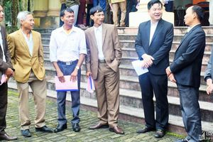 Huyện Anh Sơn gặp mặt lãnh đạo xã, thị trấn và xóm trưởng toàn huyện