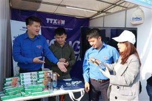 Ngày hội 'Thanh niên hành động chống rác thải nhựa' tại Bắc Ninh