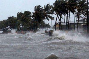 Ven biển Quảng Ngãi - Khánh Hòa chịu ảnh hưởng trực tiếp của bão số 6 từ chiều mai