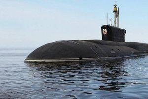 Tàu ngầm Vladimir bắn thử ngư lôi tấn công ở Biển Bạch Hải