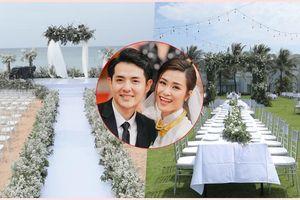 Trước giờ G, chiêm ngưỡng toàn cảnh không gian cưới và khách sạn diễn ra hôn lễ Đông Nhi - Ông Cao Thắng