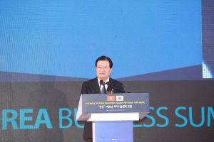 Phó Thủ tướng Trịnh Đình Dũng: 'Chính phủ Việt Nam luôn hỗ trợ doanh nghiệp Hàn Quốc'
