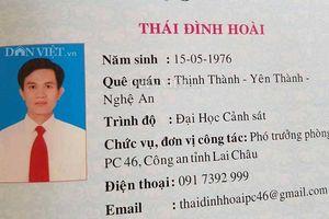 Đình chỉ, đề xuất cho ra khỏi ngành Trưởng phòng cảnh sát kinh tế Công an tỉnh Lai Châu dùng bằng giả